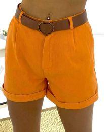 Rövidnadrág - kód 2236 - 6 - narancssárga