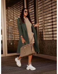Kabát - kód 7555 - vaj zöld