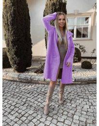 Kabát - kód 9595 - lila színű