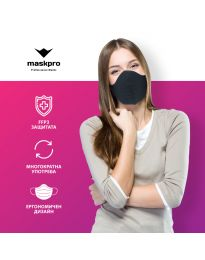 Maszk - kód 014 - fekete