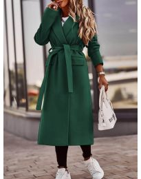 Kabát - kód 7989 - vaj zöld