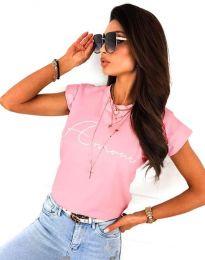 Póló - kód 2517 - rózsaszín