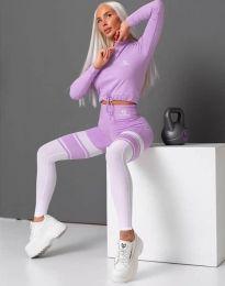 Sport együttes - kód 2570 - 1 - lila színű