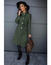 Kabát - kód 396 - vaj zöld