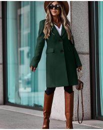 Kabát - kód 4554 - vaj zöld