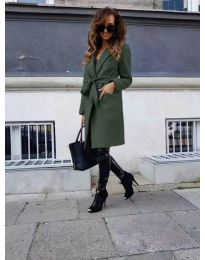 Kabát - kód 7940 - zöld