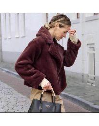 Kabát - kód 164 - bordeaux