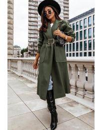 Kabát - kód 9888 - vaj zöld