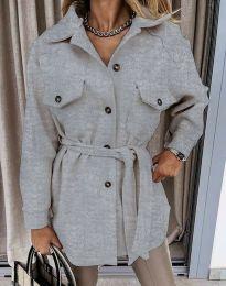 Kabát - kód 4966 - szürke