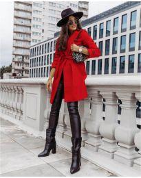 Kabát - kód 3839 - piros