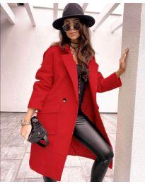 Kabát - kód 7278 - piros
