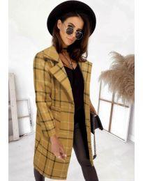Kabát - kód 0800 - mustár