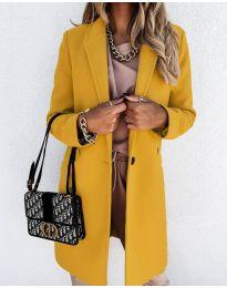 Kabát - kód 7709 - mustár