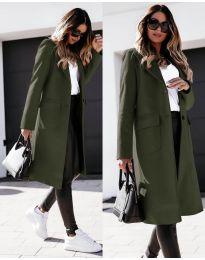 Kabát - kód 3435 - vaj zöld