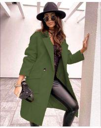 Kabát - kód 7278 - vaj zöld
