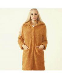 Kabát - kód 1615 - 6 - barna