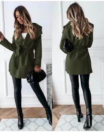 Kabát - kód 643 - vaj zöld