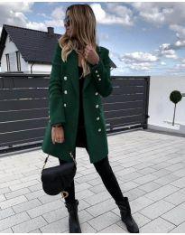 Kabát - kód 189 - zöld