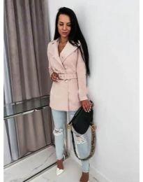 Kabát - kód 6061 - rózsaszín