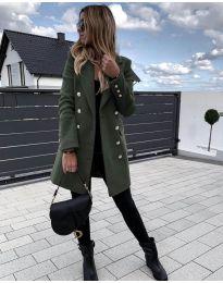 Kabát - kód 189 - vaj zöld
