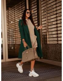 Kabát - kód 7555 - zöld