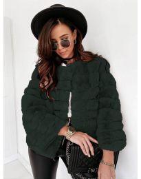 Kabát - kód 7676 - vaj zöld
