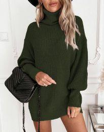 Tunika - kód 4219 - oliva zöld
