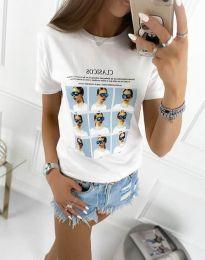 Póló - kód 4341 - fehér