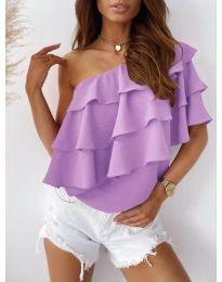 Top - kód 0141 - lila színű