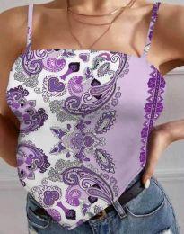 Póló - kód 0664 - világos lila