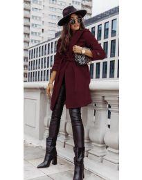 Kabát - kód 3839 - bordeaux