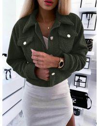 Kabát - kód 9495 - vaj zöld