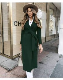 Kabát - kód 4941 - vaj zöld