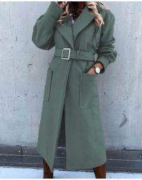 Kabát - kód 423 - vaj zöld