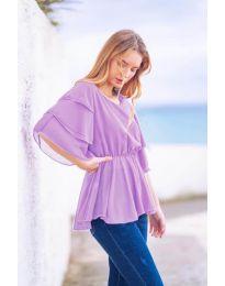 Póló - kód 504 - világos lila