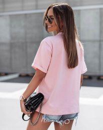 Póló - kód 11953 - rózsaszín