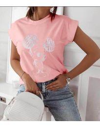 Póló - kód 709 - 1 - rózsaszín