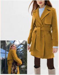 Kabát - kód 3113 - mustár