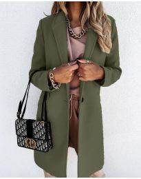 Kabát - kód 7709 - vaj zöld