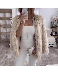 Kabát - kód 4767 - 1 - bézs