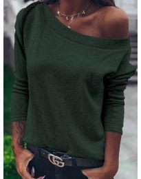 Blúz - kód 4417 - vaj zöld