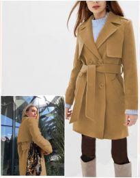 Kabát - kód 3113 - 1 - barna