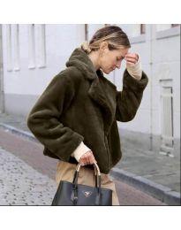 Kabát - kód 164 - vaj zöld