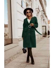 Kabát - kód 5657 - vaj zöld