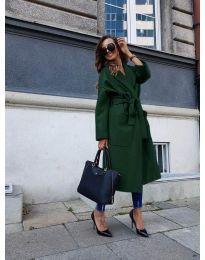 Kabát - kód 9099 - vaj zöld