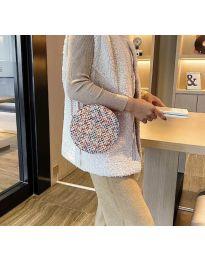 Дамска чанта с атрактивен десен - код B65 - 3