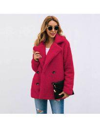 Kabát - kód 4777 - bordeaux