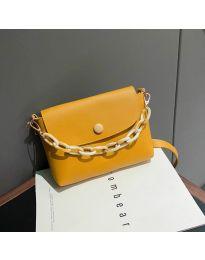 Дамска чанта в горчица - код B7674
