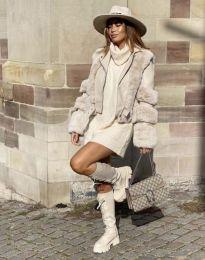 Kabát - kód 6551 - 1 - bézs